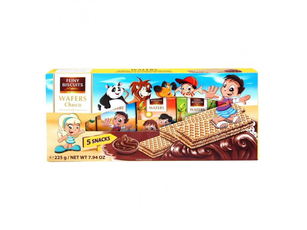 Вафли Feiny Biscuits Wafers Choco 5s 225 g