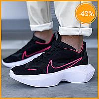 Женские кроссовки Nike Vista Lite Black Pink (Черный Розовый)