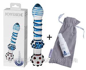 Стеклянный фаллоимитатор - JOYRIDE Premium GlassiX Set 13