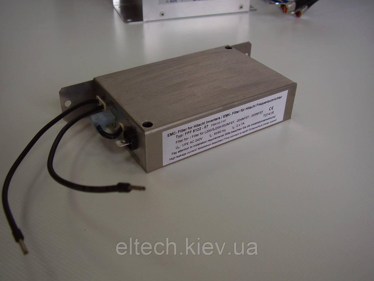 Фильтр для SJ700D-(370, 450)HFEF. Фильтр сетевой BTFB-266-G-3-115