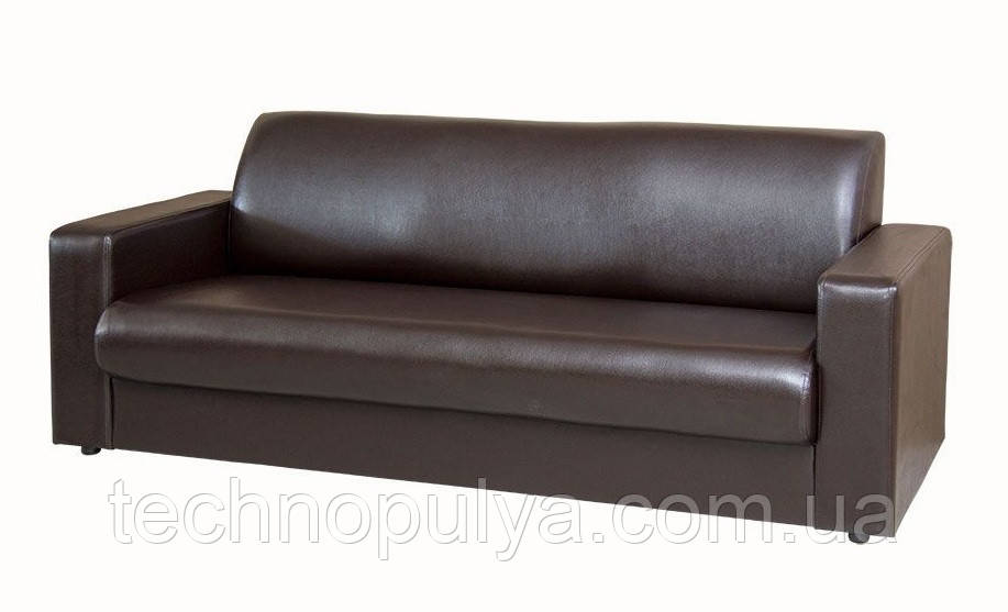 Трехместный диван Премьера Кармен 3 2030х730х790 мм Коричневый (hub_WbHM64007)