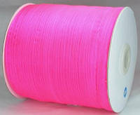 Лента из органзы розовая 7мм ЛШ06-6
