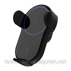 Бездротове автомобільний зарядний пристрій Vikefon 15Вт Qi (BZA-15-00)