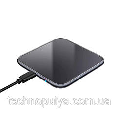 Бездротове зарядний пристрій Sikai Wireless Charger 15 Вт 10W Black (047S10)