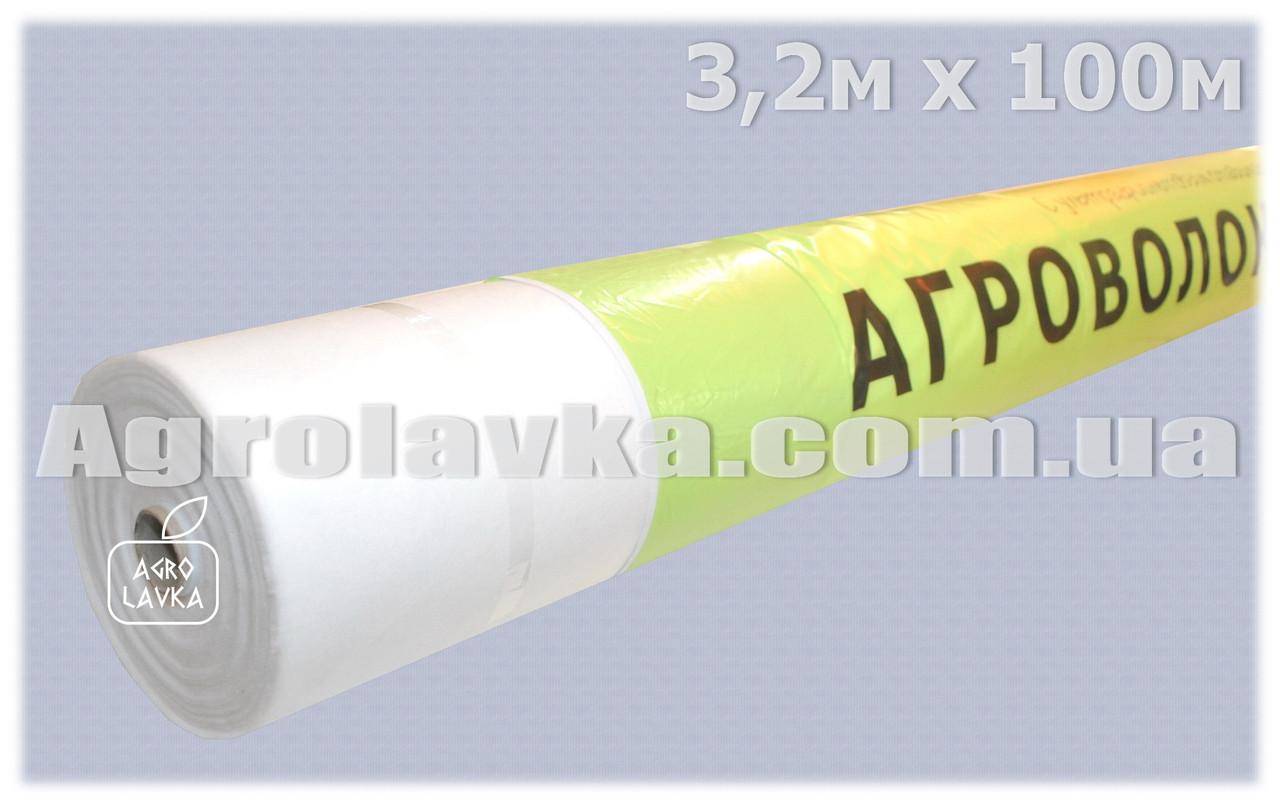 Агроволокно Плотность 40г/кв.м 3,2м х 100м Белое (Украина), фото 1