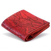 Женский кожаный кошелек Anchor Stuff Square Fern - Красный as120106-f, КОД: 774405