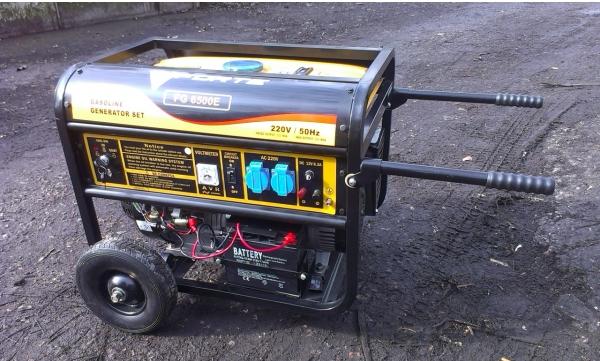 Дизельный трехфазный генератор Forte FGD 6500 E3