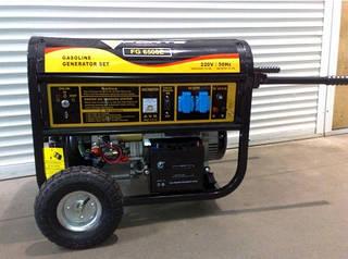 Дизельный трехфазный генератор Forte FGD 6500 E3 (4,8 кВт)