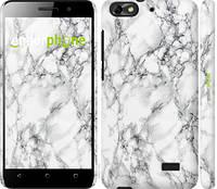 Чехол EndorPhone на Huawei Honor 4C Мрамор белый 4480m-183, КОД: 1670779