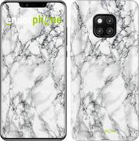 Чехол EndorPhone на Huawei Mate 20 Pro Мрамор белый 4480u-1567, КОД: 1670804