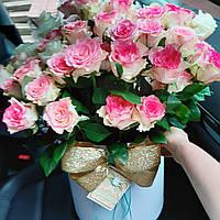 Цветы и букеты в коробках