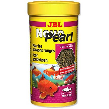 Основний корм у формі гранул JBL NovoPearl для золотих рибок, 250 мл, фото 2