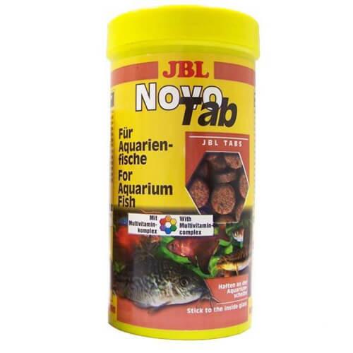 Основний корм JBL NovoTab у формі таблеток для будь-яких акваріумних риб, 1 л