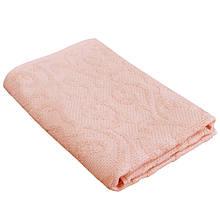Полотенце махровое ANNETTE Peach персиковое 70х140см