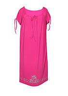 Платье ВИНТАЖ,короткий рукав,поливискоза,размеры 46-64.