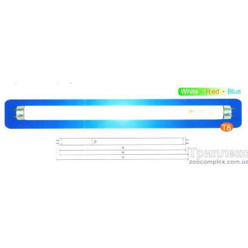 Аквариумная лампа Resun T8, RB 15, 15 Вт, 43,7 cм