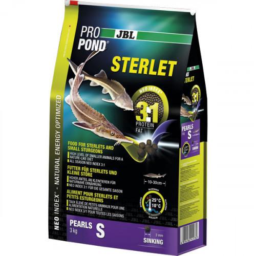 Основной корм JBL ProPond Sterlet S для стерляди небольшого размера, 3.0 кг