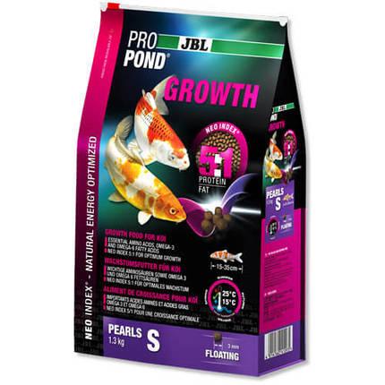 Корм JBL ProPond Growth S для роста небольших карпов кои, 1.3 кг, фото 2