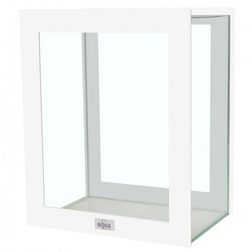 Аквариум AquaStar Domino декоративный, белый, 10.5 л