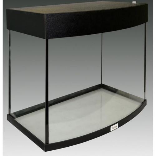 Акваріум AquaStar овальна передня стінка, 60 л, LED, чорний