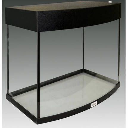 Аквариум AquaStar овальная передняя стенка, 60 л, LED, черный, фото 2