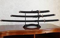 Катаны (3 самурайских меча) с подставкой (№8)