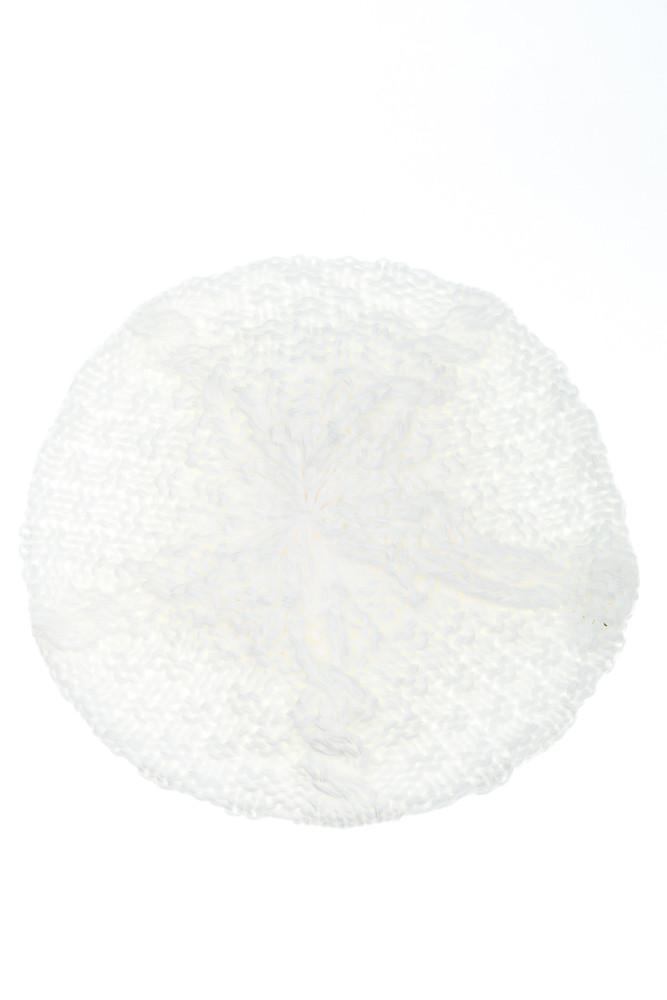 Шапка женская 120PALA1 (Белый)