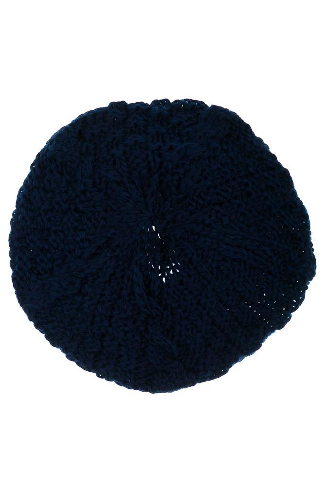 Шапка женская 120PALA1 (Темно-синий)