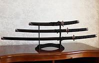Катаны (3 самурайских меча) с подставкой (№9)