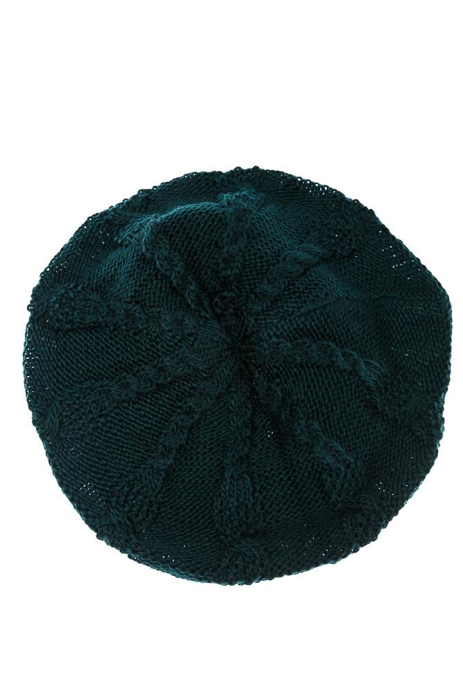 Шапка женская 120PRITA1 (Темно-зеленый)