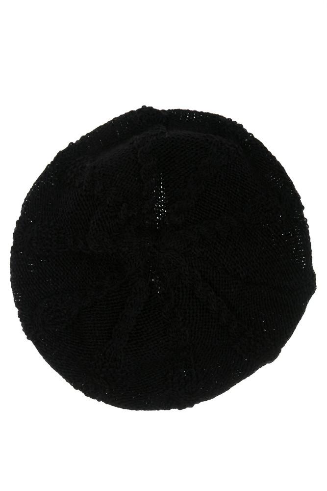 Шапка женская 120PRITA1 (Черный)