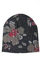 Шапка женская 120PTR18007 (Темно-серый/бронза), фото 1