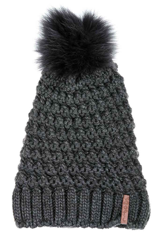 Шапка 120P17017 (Темно-серый)