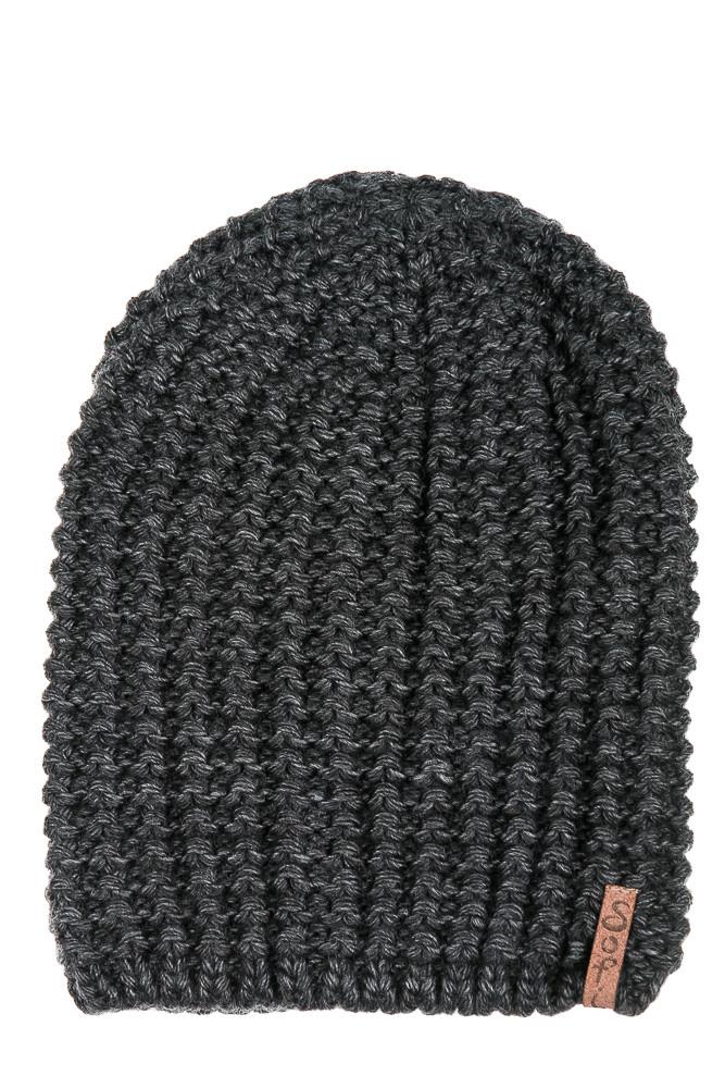 Шапка 120P18075 (Темно-серый)