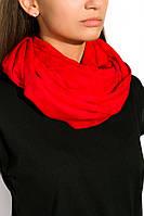 Шарф женский 120PELM100 (Красный)