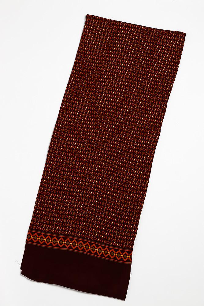 Шарф 120PELM140 (Темно-бордовый)