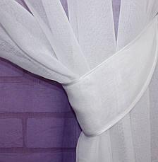 "Комплект растяжка ""Омбре"", ткань батист, под лён. (4х2,5м.+ 2шт.1,5x2,5мЦвет фиолетовый 031дк518 10-112, фото 2"