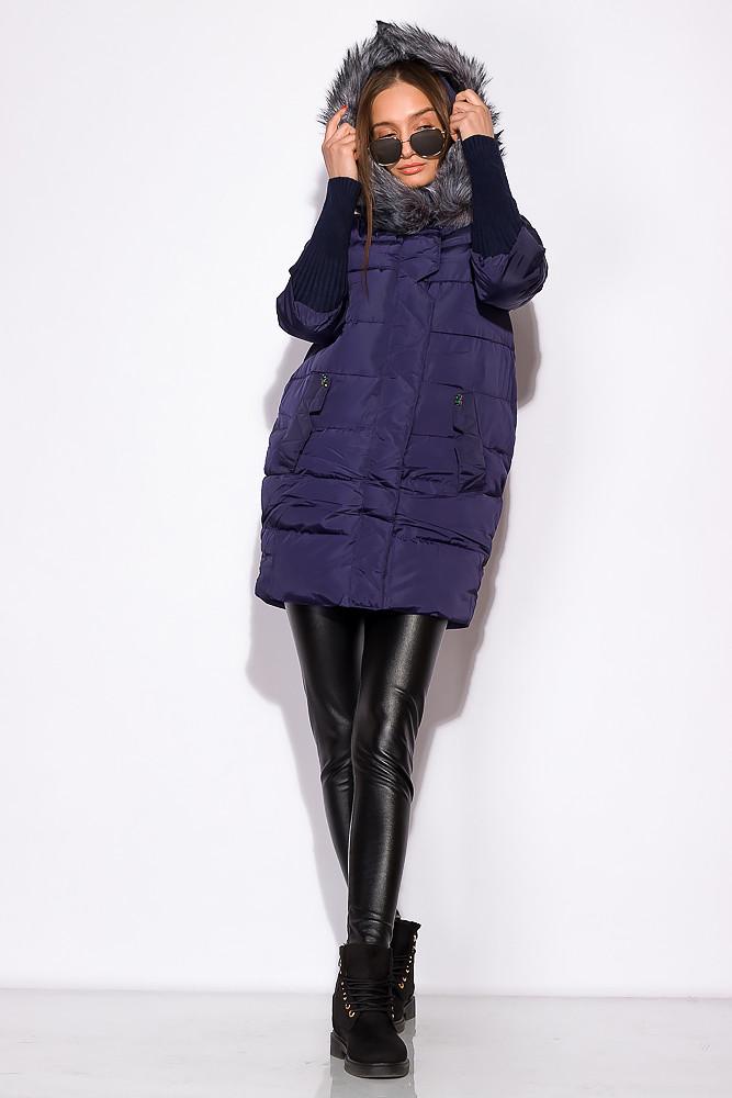 Куртка женская 120PSKL6862 (Темно-синий)