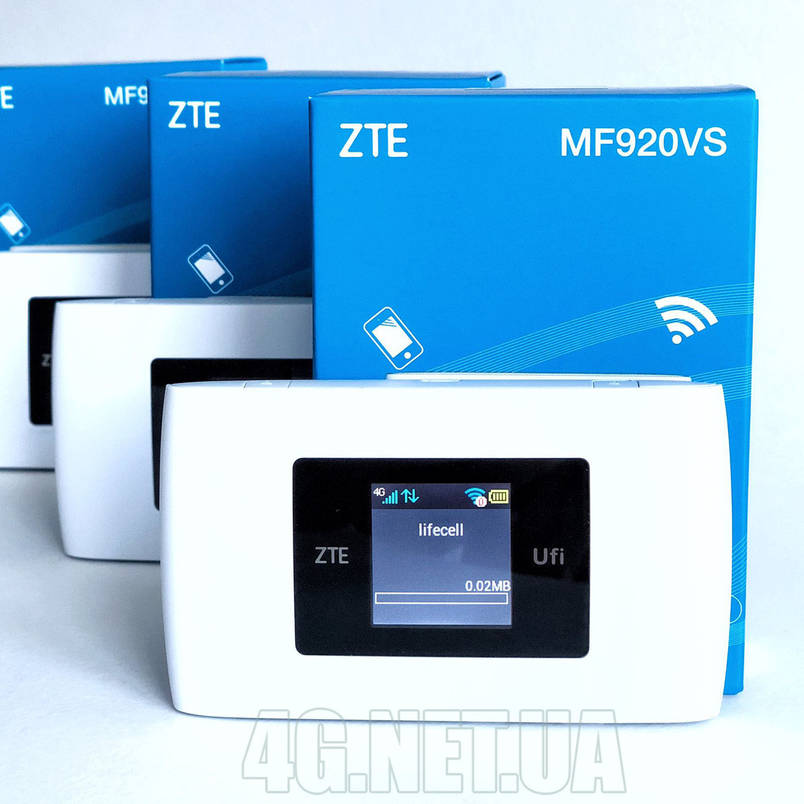 4G/3G wifi роутер ZTE MF920VS под симкарту Lifecell, Киевстар, Vodafone, фото 2