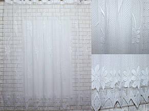 Тюль сетка, плотная, для кухни, балкона. Высота 2м, Код 519т, фото 2
