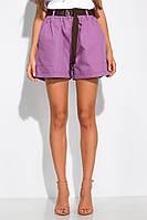 Модные женские шорты 153P127 (Лавандовый), фото 1