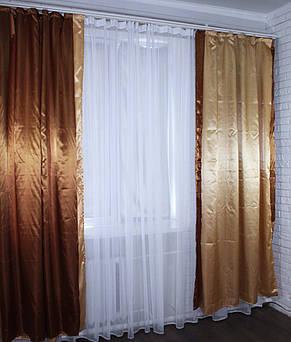 Комплект декоративных портьер (1,45*2,5).Код 005дк 10-021, фото 3