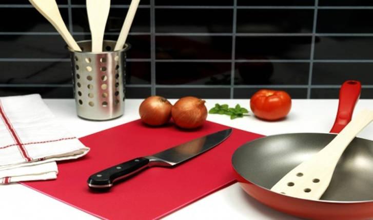 Кухонная гибкая разделочная доска набор (4шт), фото 2