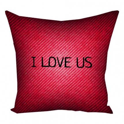 Подушка I Love Us, фото 2