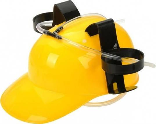 Шлем для пива желтый, фото 2
