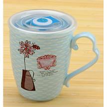 Чашка заварочная Цветок с таймером, фото 3