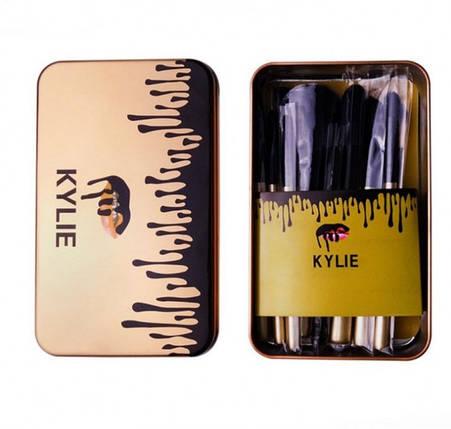 Кисти для Макияжа Kylie 12 шт, фото 2