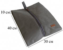 Набор дорожных сумок 5 шт (серый), фото 3