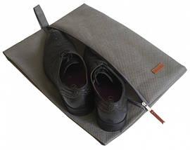 Набор дорожных сумок 5 шт (серый), фото 2
