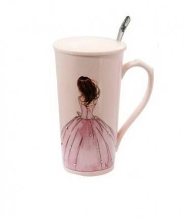 Чашка керамическая Принцесса, фото 2